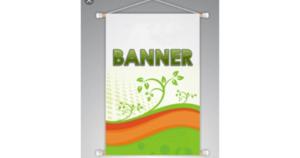 Banner 90x65 cm