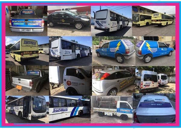 Envelopamento de Ônibus m2
