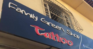 Family Green Shop Tattoo