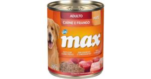 3 Latas de Patê Total Max para Cães Adultos 280g