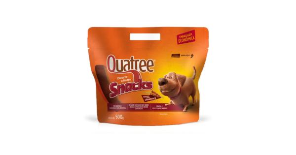 Biscoito Quatree Snacks 500g