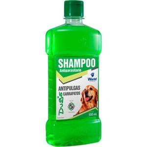 Shampoo Antiparasitário World 500ml