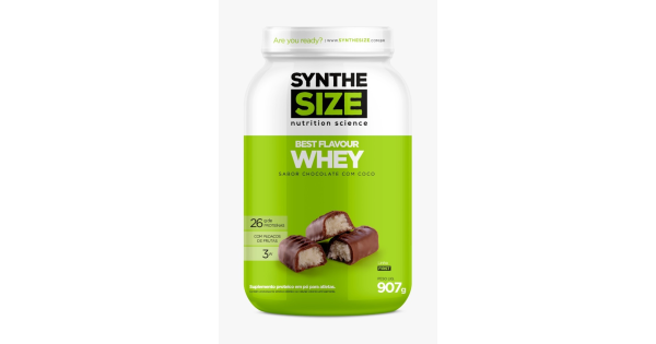 Hiperproteíco Best Flavour Whey Synthesize