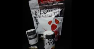 Whey Protein, Creatina 100g e BCAA