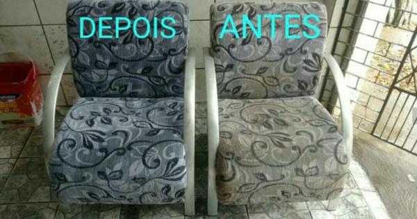 Limpeza e Higienização de Cadeira