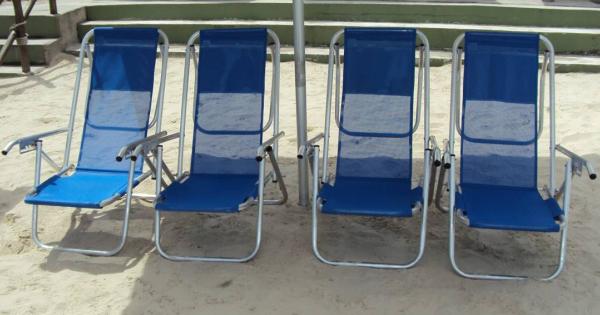 Reforma de Cadeira de Praia
