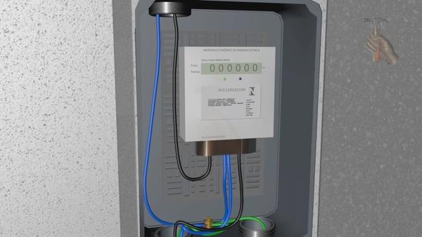 Instalação de Padrão de Energia Elétrica